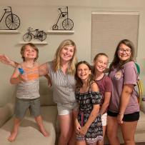Kelly Durick and Kids